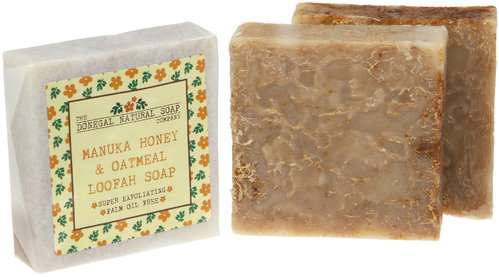 Manuka Honey & Oats Loofah Soap (Honig & Hafer & Luffa)